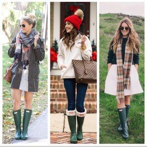{Hunter} Original Tall Rain Boots Sz 7
